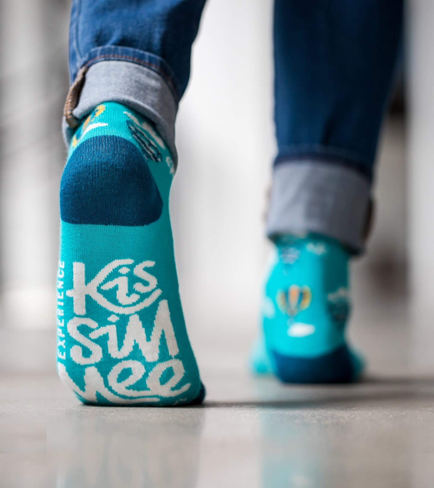 Experience Kissimmee Destination marketing and rebrand - socks