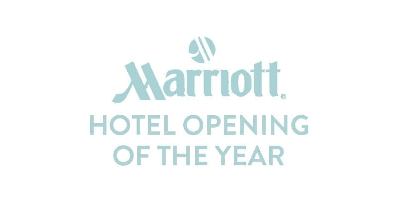 Marriott Hotel opening of the year logo