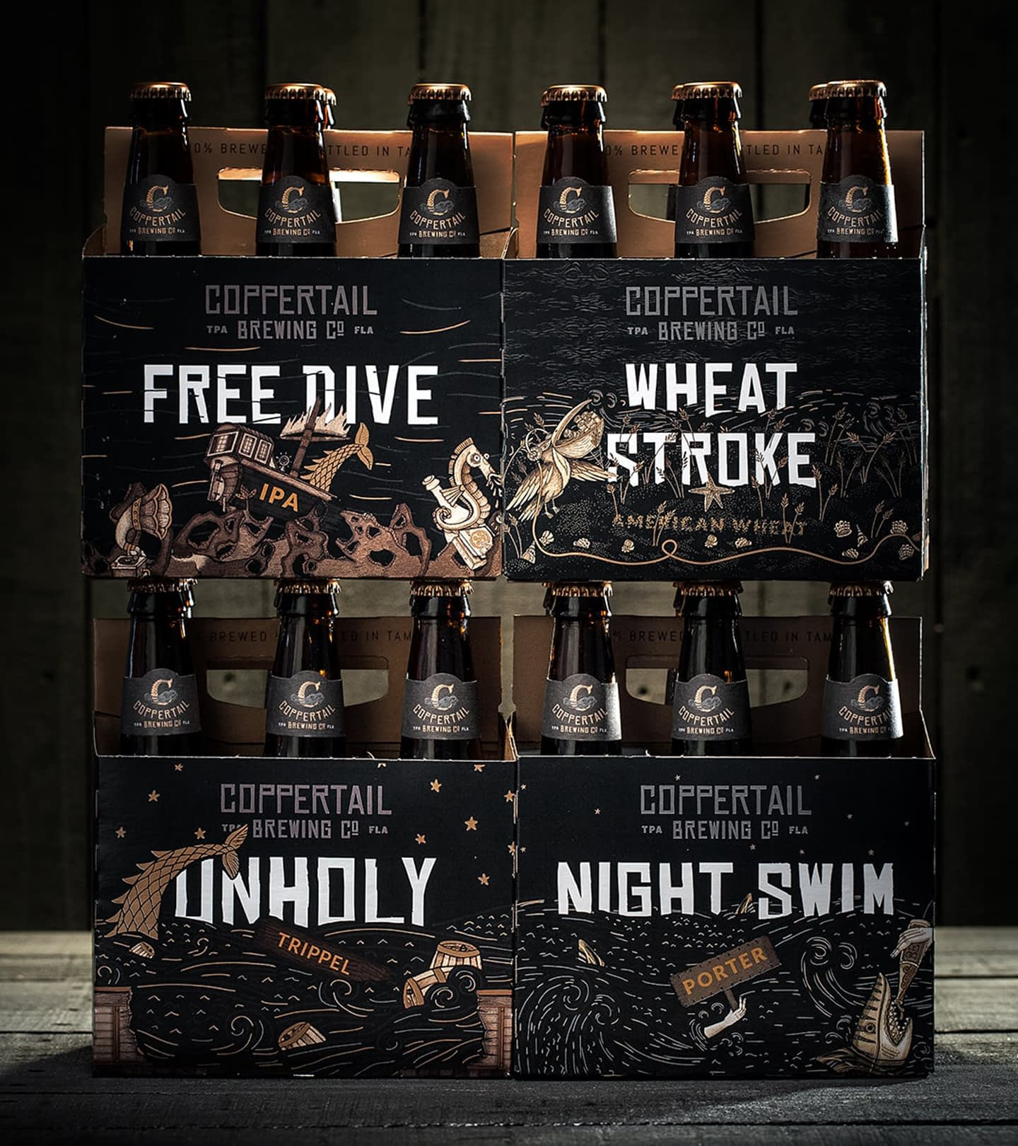 Coppertail 6-packs