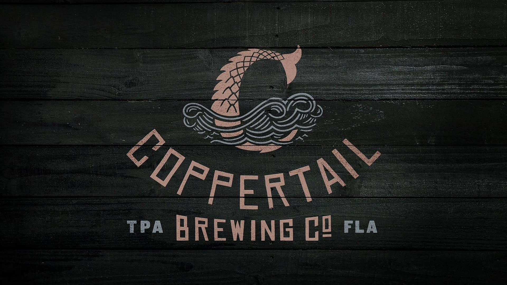 Logo design for coppertail beer branding